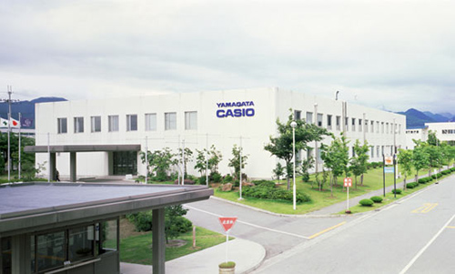Промышленный центр Casio в городе Ямагата