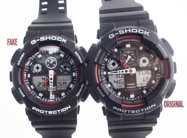 Подделка и оригинал Casio G-Shock