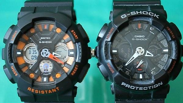 Оригинал и подделка Casio G-Shock