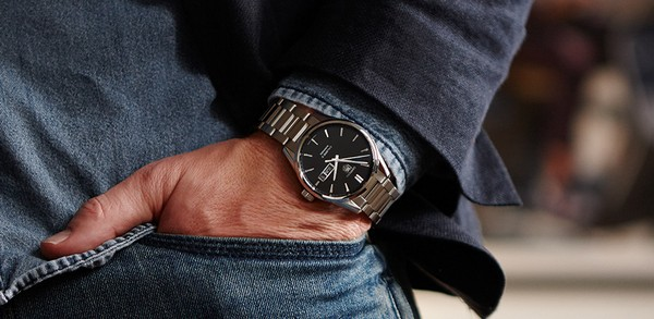 Как носить часы мужчине