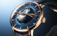 Часы Arnold & Son Globetrotter Gold олицетворяющие нашу планету