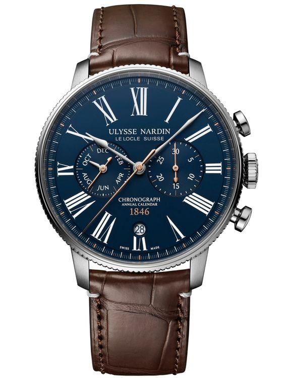 Часы Ulysse Nardin Marine Torpilleur Annual Chronograph