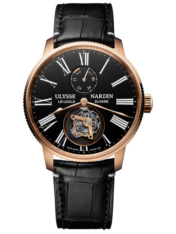 Часы Ulysse Nardin Marine Torpilleur Tourbillon Grand Feu