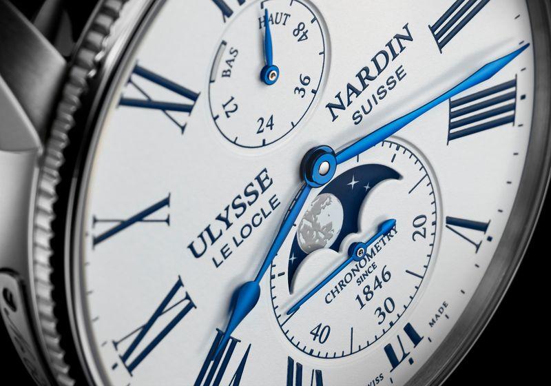 Часы Ulysse Nardin Marine Torpilleur Moonphase