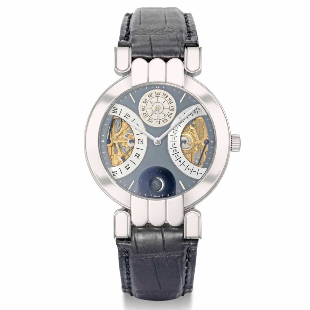 Часы Harry Winston Biretrograde Perpetual Calendar