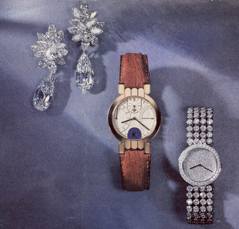 Первые часы под брендом Harry Winston, 1989 год