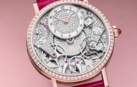 Часы Breguet Tradition 7035 с полностью видимым циферблатом