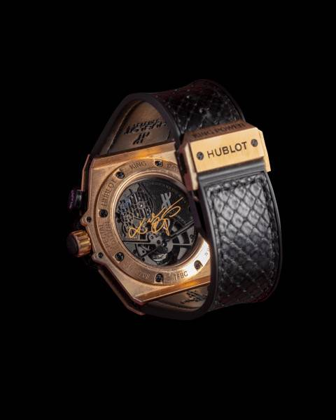 Часы Hublot King Power Black Mamba