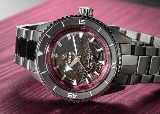 Часы Rado Captain Cook High-Tech Ceramic для участия в аукционе