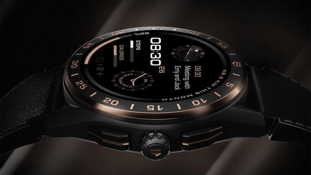 Смарт-часы TAG Heuer Connected Bright Black Edition