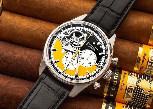 Юбилейные часы Zenith Chronomaster Open Cohiba 55th Anniversary Edition