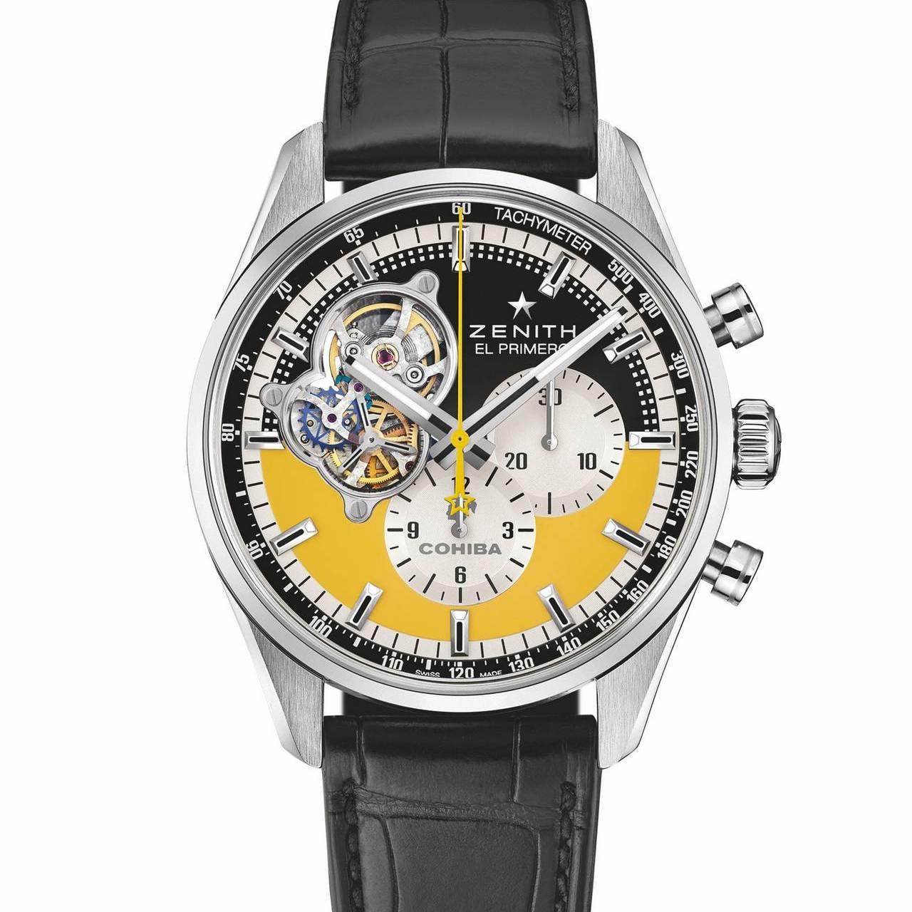 Часы Zenith Chronomaster Open Cohiba 55th Anniversary Edition