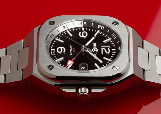 Bell & Ross BR 05 GMT. Идеальные часы для путешественников