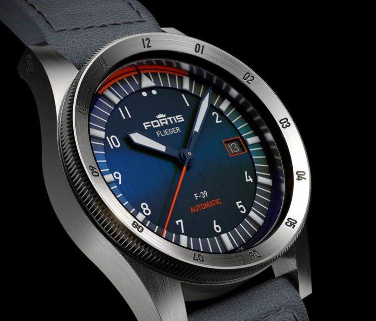 Часы Fortis Flieger Midnight Blue