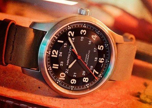 Часы Hamilton Khaki Field Titanium Automatic для фанатов игры Far Cry