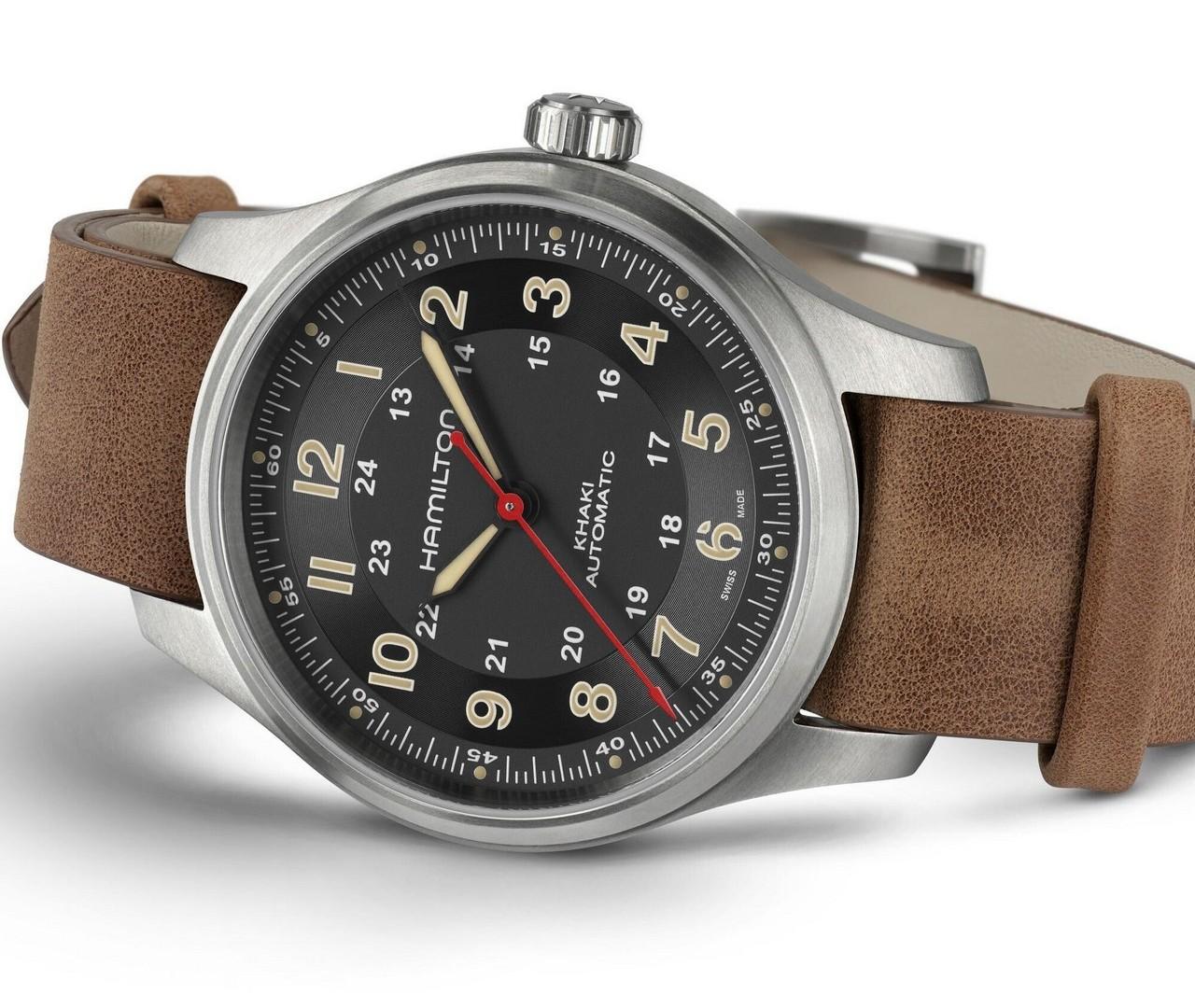 Часы Hamilton Khaki Field Titanium Automatic Far Cry 6