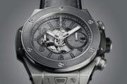 Hublot Big Bang Unico Berluti Aluminio. Уникальные часы в серых тонах