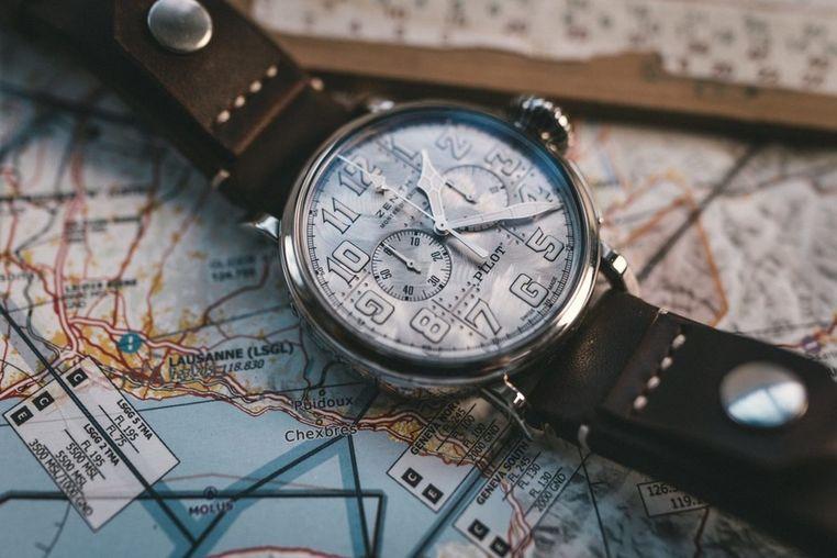 Часы Zenith Pilot Type 20 Chronograph Silver