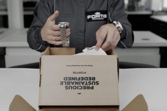 Fortis использует экологическую упаковку
